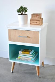 Vintage modern painted furniture in Vancouver