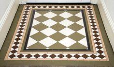 London Mosaic Victorian Tile Design Colliford 50 Multi