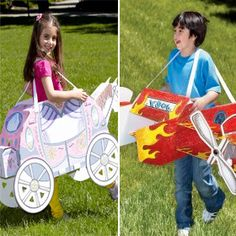3D Princess Carriage or 3D Stunt Plane by Wearables $20