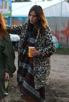 livefastdiechung: Alexa Chung at Glastonbury 2014