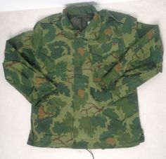 M65 Jacket. Leaf Camouflage