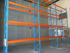 Mesh backing fixed to the rear of pallet racking is an important step in eliminating WHS issues created by falling stock. Pallet Racking, Pallet Storage, Racking System, Cairns, Storage Solutions, Shelving, Mesh, Shelves, Shed Storage Solutions