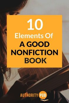 In this post discover the 10 elements of good nonfiction writing. Memoir Writing, Book Writing Tips, Writing Resources, Writing Prompts, Writing Art, Kids Writing, Start Writing, Writing Ideas, Fiction And Nonfiction