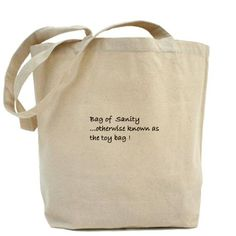 Toy Bag gift, gag tote bag, funny tote bag, parent tote bag
