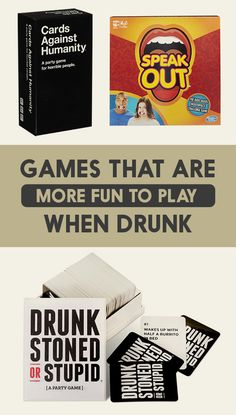 22 Games That Are More Fun To Play When You're Drunk
