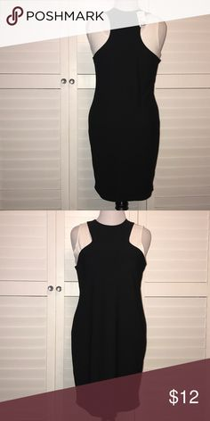 Black Dress This dress has a white half top under so technically the dress is black and white. Forever 21 Dresses