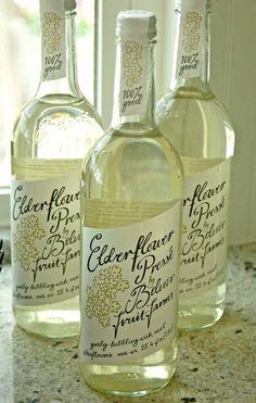 Love, love, love elderflower!  Heather Bullard: Easter Menu