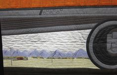 train quilt Train, Quilts, Inspiration, Biblical Inspiration, Quilt Sets, Quilt, Log Cabin Quilts, Lap Quilts, Quilling