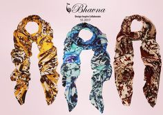 Spring is nearly here and so are our SS17 scarves. Made from luxuriously soft #silk that are large enough to be worn as a #sarong...Available on https://shop.bhavna.com