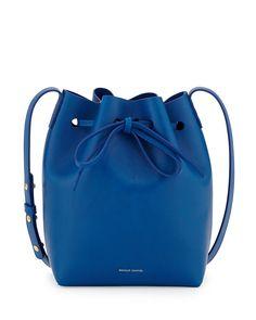 Mansur Gavriel bucket bag (via http://chicityfashion.com/fashion-ad-campaigns-with-animals/)