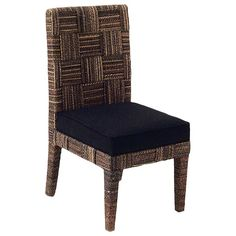 Found it at www.dcgstores.com - ♥ ♥ Solstice Dining Side Chair - Abaca Weave, Cushion ♥ ♥
