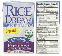 Organic Original Enriched Rice Dream Rice Milk Drink Review Milk Brands, Vegan Milk, Rice Milk, Cancer Fighting Foods, Ketosis Diet, Cholesterol Diet, Atkins Diet, Health And Fitness Tips, Saturated Fat