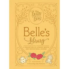 Beauty And The Beast Belles Library Book