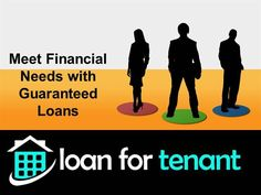 Loan for Tenant provides guaranteed loans in UK. We are dedicated to offer valuable deals on loans for tenants and unemployed that help them in best possible manner during adverse monetary situation. To know more,click:http://www.loanfortenant.uk/guaranteed-loans.html