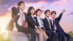 Check out new c - drama meteor garden I'm sure u will love it Meteor Garden Cast, Meteor Garden 2018, Los F4, F4 Boys Over Flowers, K Drama, Korean Tv Shows, Chines Drama, A Love So Beautiful, Drama Movies