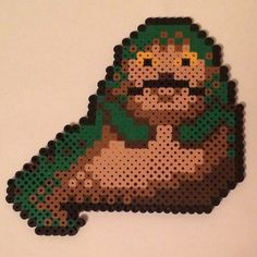 Jabba the Hutt - Star Wars perler beads by knoxy_beads