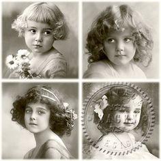 Sagen Vintage 4 meisjes V7
