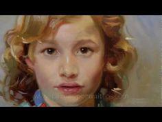 Learn how to paint a portrait. By Ben Lustenhouwer
