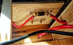 Epic Guide to DIY Van Build Electrical: How to Install a Campervan Solar Electrical System Van Conversion Wiring, Camper Van Conversion Diy, Woodworking Tutorials, Woodworking Techniques, Mercedes Camper Van, Vw Lt, Solar Power Panels, Van Living, Campervan