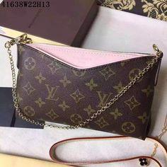 Louis Vuitton LV bags & shoulder bag & tote from replica shop, Size W22H13CM, Monogram Canvas, Color Pink #LOVUBAG-748