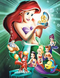 Disney, The Little Mermaid, Ariel