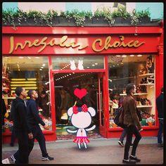 面白いデザインの靴が好き?ここおすすめします~♥ #kumacouture #kuma #kumaqutie #london #irregularchoice #carnabystreet #character #cute - @kumacouture- #webstagram