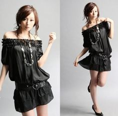 Latest Fashionable Dresses: Create a swagger in Little Black dress