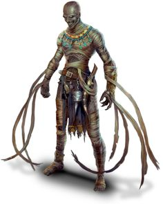 character concept sand desert mummy nomad undead elite masked tentacle