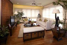 lantana Modern Filipino Interior, Modern Interior, Home Interior Design, Exterior Design, Modern Decor, Small Living Rooms, Home Living Room, Living Spaces, Filipino House