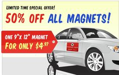These Cool And Trendy Custom Car Magnets Are Just The Right Thing - Custom car magnet cheap
