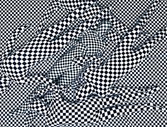 Berlin Art Link STUDIO VISIT: OLAF BREUNING - Black and white patterns.
