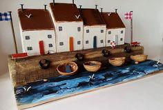 Treibholz-Häuser Treibholz Landhaus am Meer
