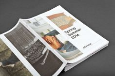 Elvine - Lookbook by Lundgren Lindqvist , via Behance