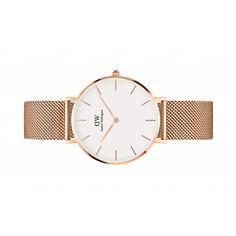 Classic Petite Melrose 32mm (white) wrist watch by Daniel Wellington.