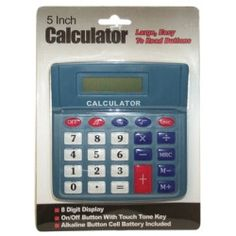 5 Inch Large Button Calculator