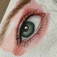 Spectacular piece💖😁 By Phatthaporn Meepoo.art 💫 Release your creativity… Spectacular piece💖😁 By Phatthaporn Meepoo.art 💫 Release your creativity with a BONUS eBook Library by buying NIL Tech Pencil Set, just click ➡️THE LINK I. Watercolor Eyes, Watercolor Drawing, Watercolor Paintings, Paintings Of Eyes, Pencil Art Drawings, Art Drawings Sketches, Drawings Of Eyes, Eye Pencil Drawing, Color Pencil Sketch