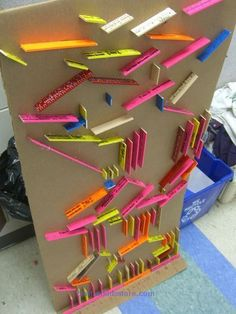 Marble Run game made for elementary students. Could be used…