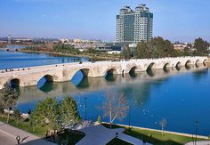 Adana  Turkey, bridge made by Romans and still use by commuters