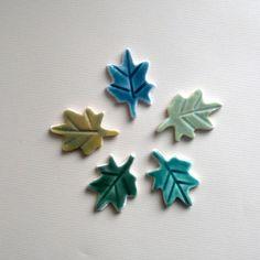 5+Mini+Leaf+Tiles+by+koalachickens+on+Etsy,+$3.75
