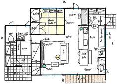 「家具のような佇まい。間取りからこだわる北欧ナチュラル」憧れのキッチン vol.97 mekichinさん | RoomClip mag | 暮らしとインテリアのwebマガジン