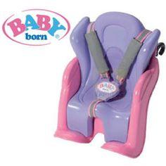 Baby Born Bike and Car Seat