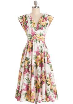 Spring in Full Swing Dress, #ModCloth