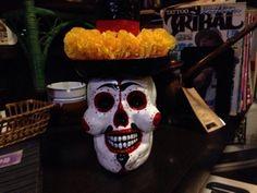 カラベラ calavera メキシコ スカル パイプ mexican skull pipe Pipe of the dead Día de los Muertos