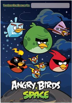 8 Angry Birds Space Treat Party Bags