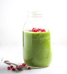 Green Apple Smoothie from Pinch Of Yum