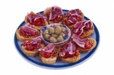 bruchetta with olives