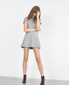 Zara Heather Marl dress