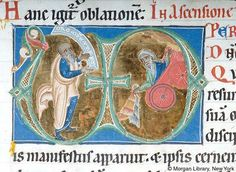 Gradual, Sequentiary, Sacramentary, MS M.855 fol. 106v - Images from Medieval and Renaissance Manuscripts - The Morgan Library & Museum