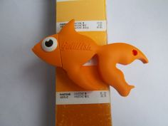 Design your very own custom shape usb flash drive and get something truly unique. Available from just 100+ #USB #Goldfish #Flashdrive
