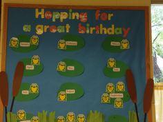Preschool Birthday Bulletin Board Ideas   Trinity Preschool MP: Preschool Birthday Bullletin Boards